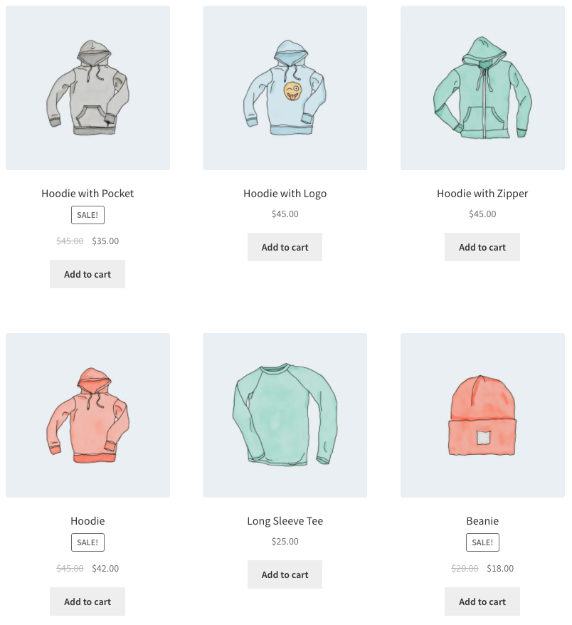 WooCommerce Shortcode - Products by Attribute