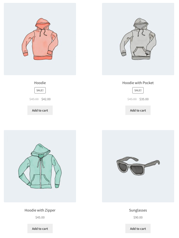 WooCommerce Shortcode - Featured Products